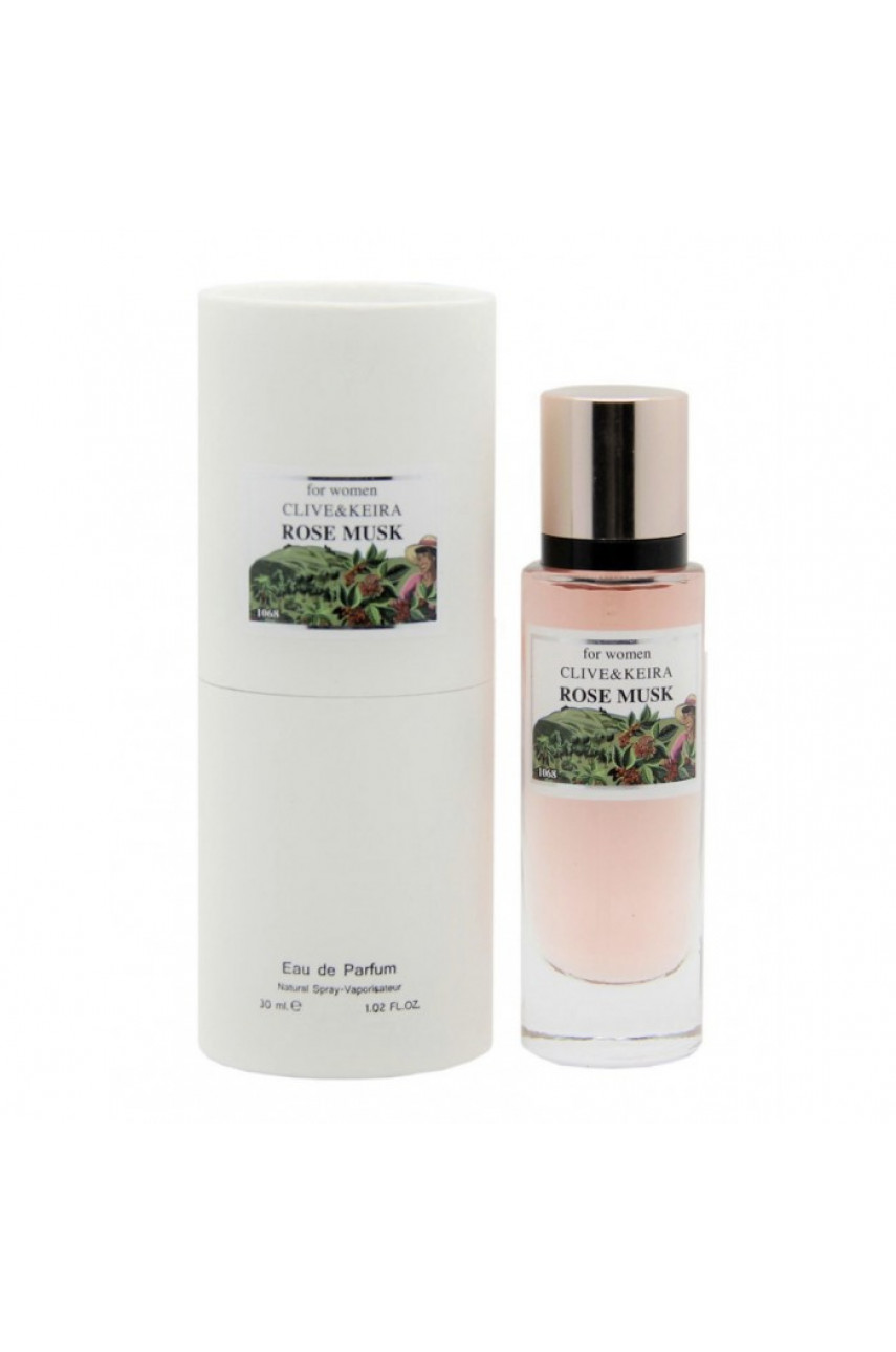 CLIVE&KEIRA 1068 MONTALE ROSE MUSK 30 ML